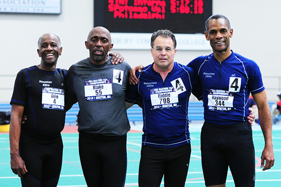 New World Record-4×400 (60-64)